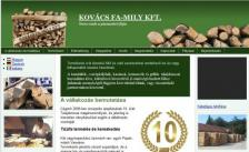Kovács Fa-mily Kft. honlapja