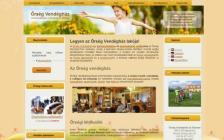 Őrség Vendégház honlapja